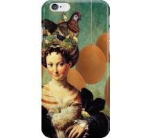 a lot on her mind iPhone Case/Skin