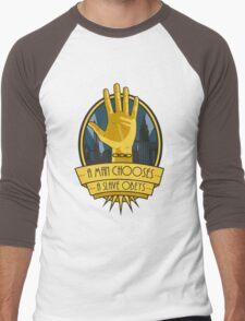 The Cult Of Rapture Men's Baseball ¾ T-Shirt