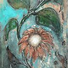 Rustic Sunflower by F. Magdalene Austin