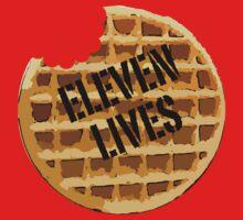 Eleven Lives - Stranger Things Fan Art One Piece - Short Sleeve