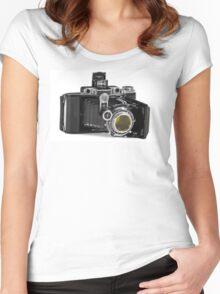 Zeiss Ikon Ikonta Women's Fitted Scoop T-Shirt
