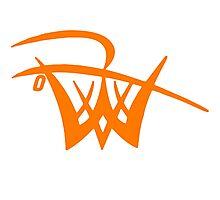 Unofficial Logo orange Photographic Print