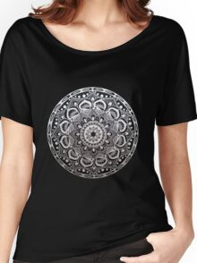 Silver Lined Balancing Act Women's Relaxed Fit T-Shirt