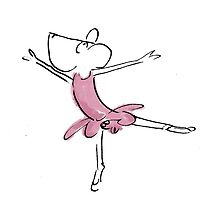 ballerina by Sandy Mitchell