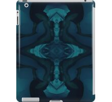 Fringes of Time in Blue iPad Case/Skin