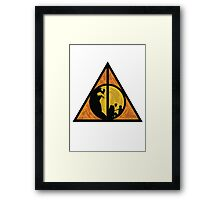From Father To Son Framed Print