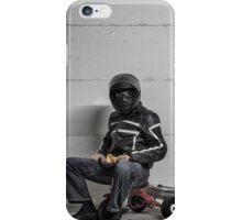 Ironic Biker iPhone Case/Skin