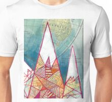 The Geometry of Geography Unisex T-Shirt
