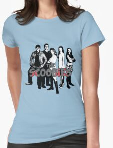 BTVS CAST (S1): The Scoobies! Womens Fitted T-Shirt