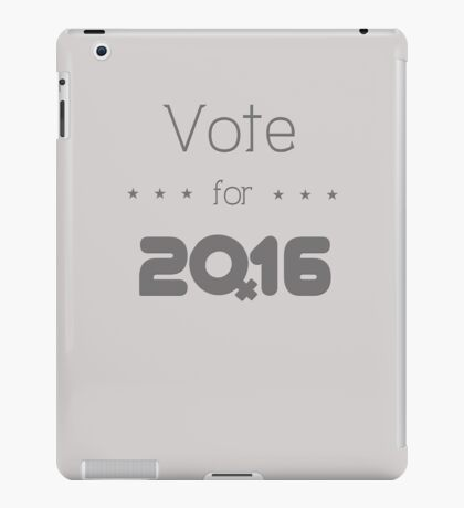 HILLARY Election 2016 iPad Case/Skin