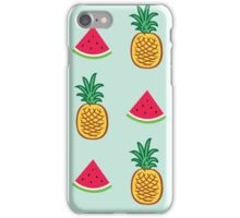 Pineapple/Watermelon iPhone Case/Skin