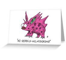Flanderino Greeting Card
