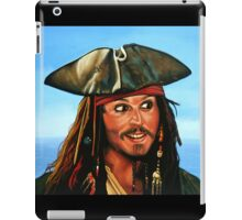 Captain Jack Sparrow Painting iPad Case/Skin