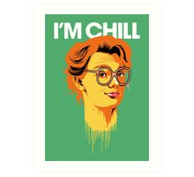 Chill Barb Art Print