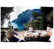 Vista Da Capri Poster