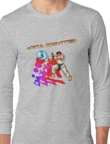 mORTAL COMBATTT!!!!!1 Long Sleeve T-Shirt