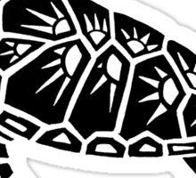 Sea Turtle Tribal Design  Sticker