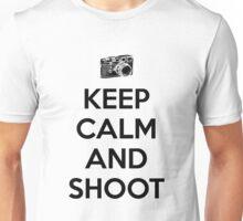 Keep calm and shoot Unisex T-Shirt