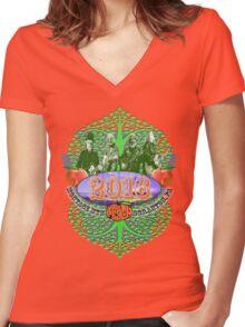 Peach Music Festival 2016 Women's Fitted V-Neck T-Shirt