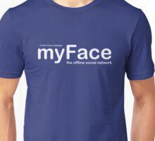myFace - The Offline Social Network Unisex T-Shirt
