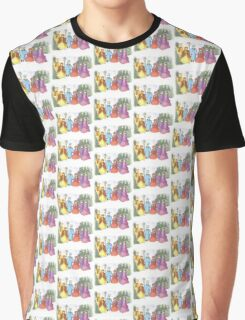 COLORFUL CHRISTMAS CAROLERS Graphic T-Shirt