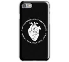 hoty white iPhone Case/Skin