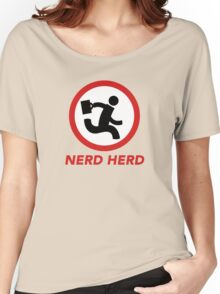 Nerd Herd 1 Women's Relaxed Fit T-Shirt