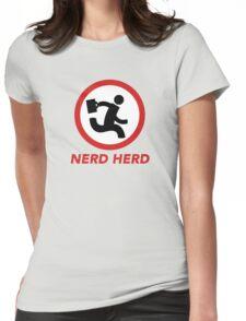 Nerd Herd 1 Womens Fitted T-Shirt
