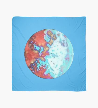 The globe. Scarf