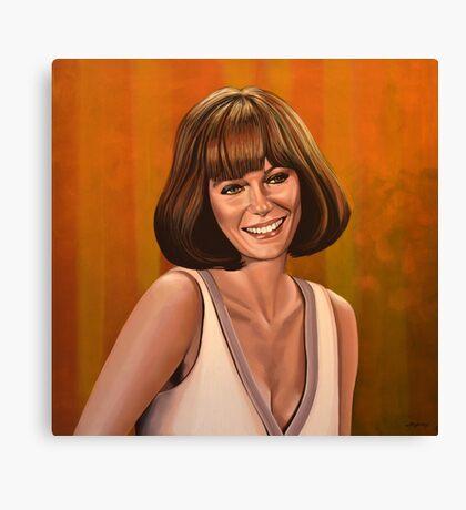 Jacqueline Bisset Painting Canvas Print