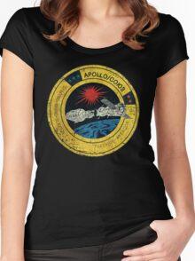 Apollo Soyuz Vintage Emblem Women's Fitted Scoop T-Shirt