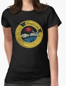 Apollo Soyuz Vintage Emblem Womens Fitted T-Shirt