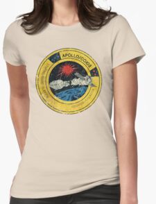 Apollo Soyuz Vintage Emblem Womens Fitted T-Shirt