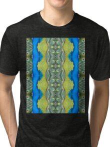 Peacock Patterns Tri-blend T-Shirt