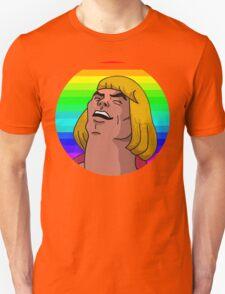 Rainbow He-Man Unisex T-Shirt