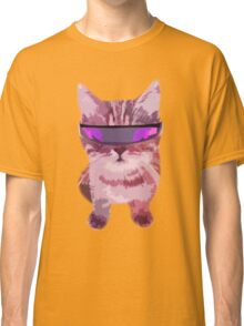 Beach Cat is ready to make waves (Girly) Classic T-Shirt