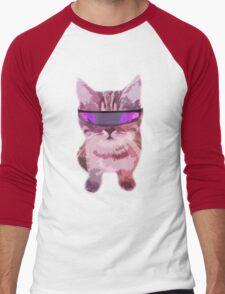 Beach Cat is ready to make waves (Girly) Men's Baseball ¾ T-Shirt