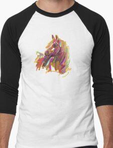 Cool T shirt  Horse  true colors Men's Baseball ¾ T-Shirt
