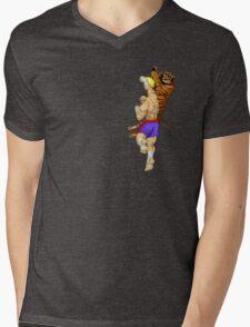 Tiger Uppercut Mens V-Neck T-Shirt