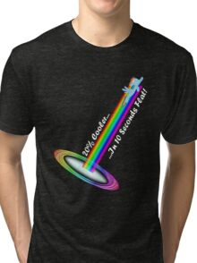 Sonic Rainboom - Basic Tri-blend T-Shirt