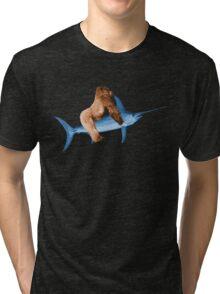 Kong and Engaurde Tri-blend T-Shirt