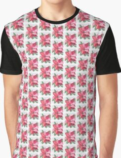 CHRISTMAS POINSETTIA Graphic T-Shirt