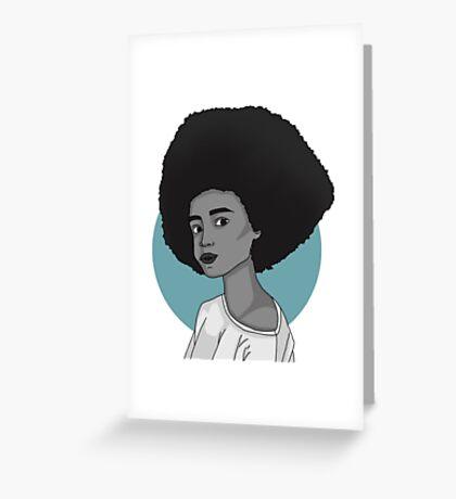 Azure Greeting Card