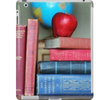 Classic Books with a Red Apple iPad Case/Skin
