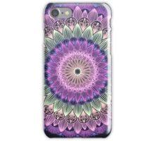 Colorful Flower Line Mandala iPhone Case/Skin