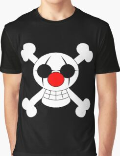 Buggy The Clown Jolly Roger Graphic T-Shirt