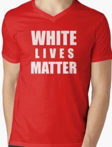 white lives matter Mens V-Neck T-Shirt