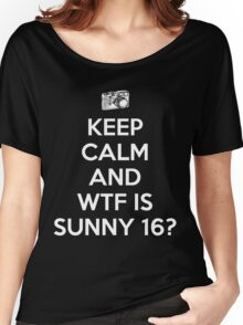 WTF is Sunny 16 Rule Women's Relaxed Fit T-Shirt