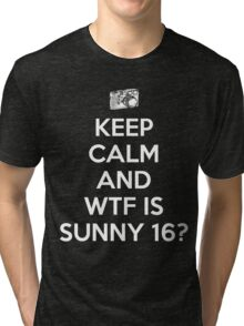 WTF is Sunny 16 Rule Tri-blend T-Shirt