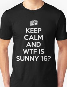 WTF is Sunny 16 Rule T-Shirt